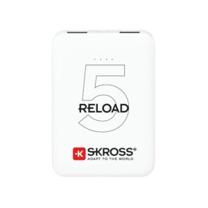 SKROSS Reload5 5Ah power bank USB/microUSB kábellel, két kimenettel